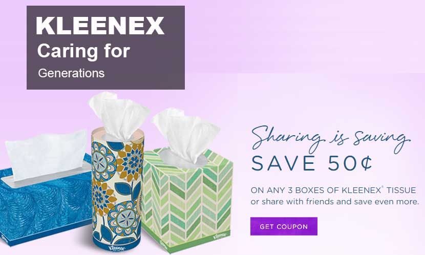 2016 Kleenex coupon