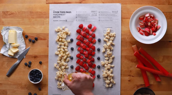 ikea s bakeable recipe sheets help consumers cook with confidence