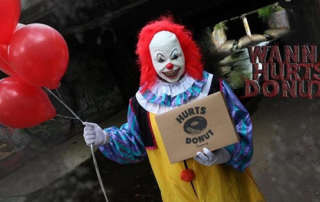 Scary Clown Delivery Service