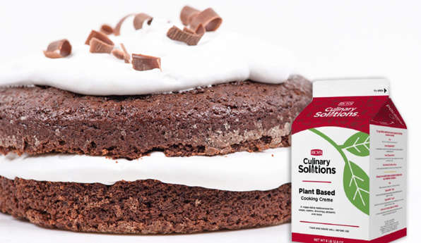 Richs Plant Based Creme - Vegan Chocolate Cake