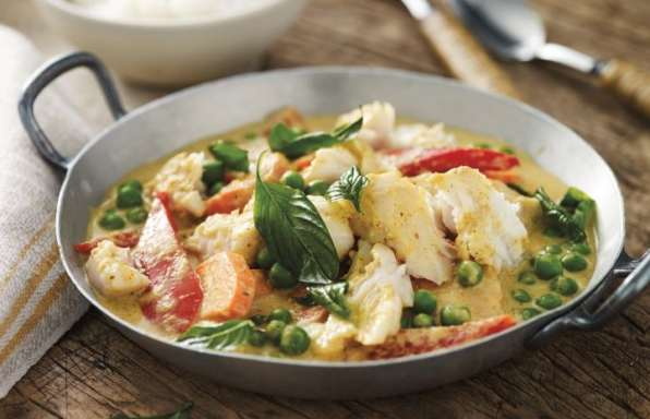 Recipes - Coconut Curry Alaskan Pollock