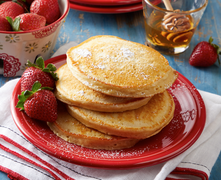 Daisy Sour Cream Pancakes