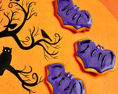 Halloween Bat Sugar Cookies Recipe