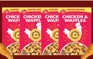 Post Chicken and Waffles Cereal
